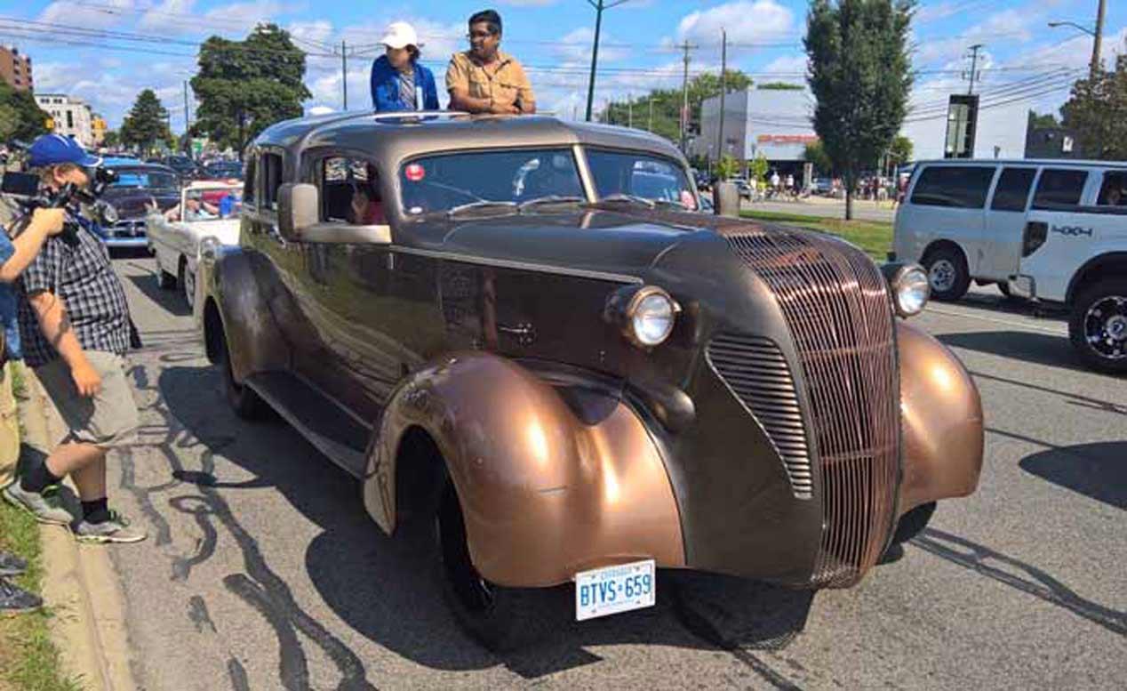 Los coches más raros de Woodward