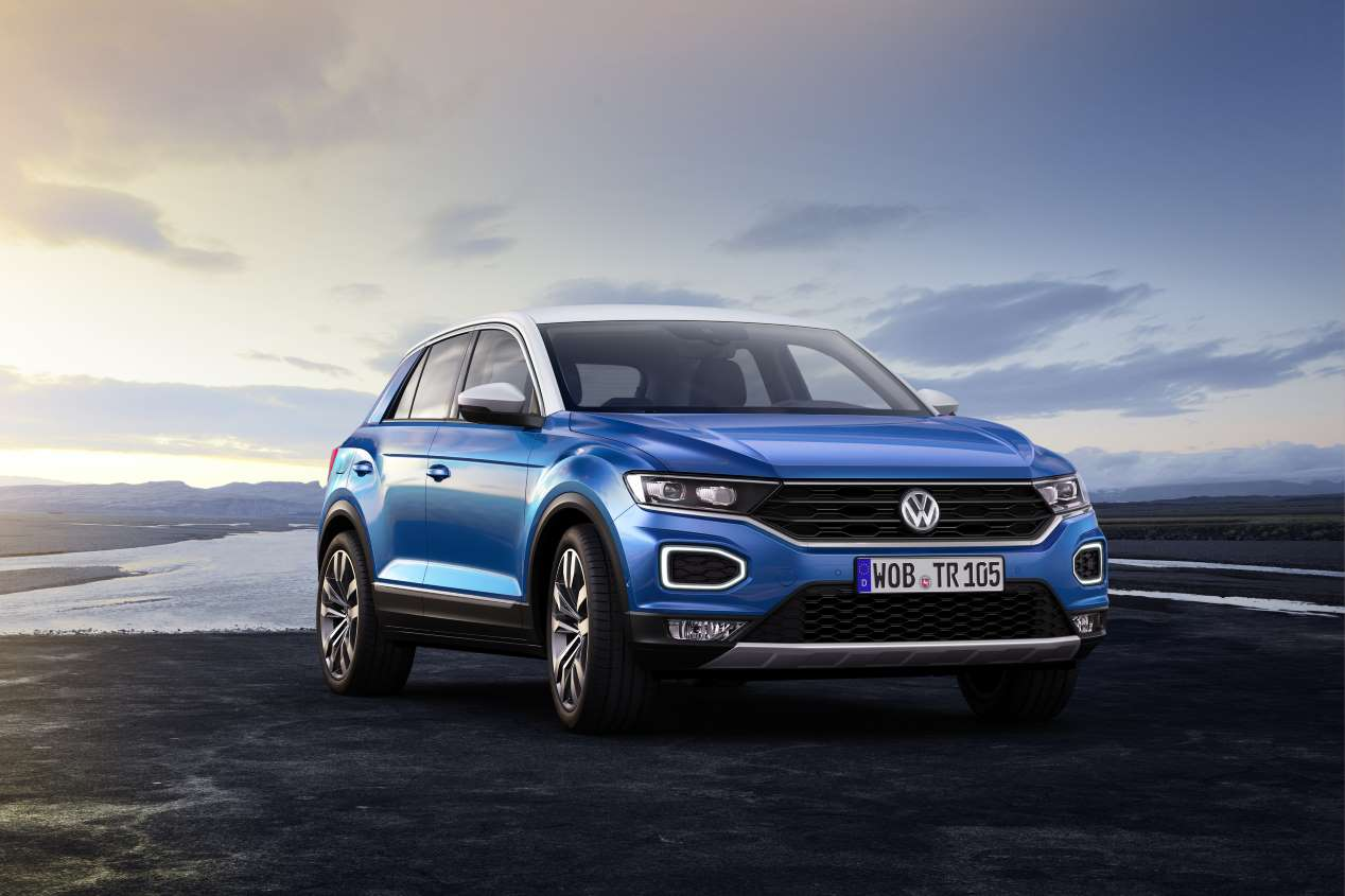 Volkswagen T-Roc: todas las fotos oficiales del nuevo SUV compacto