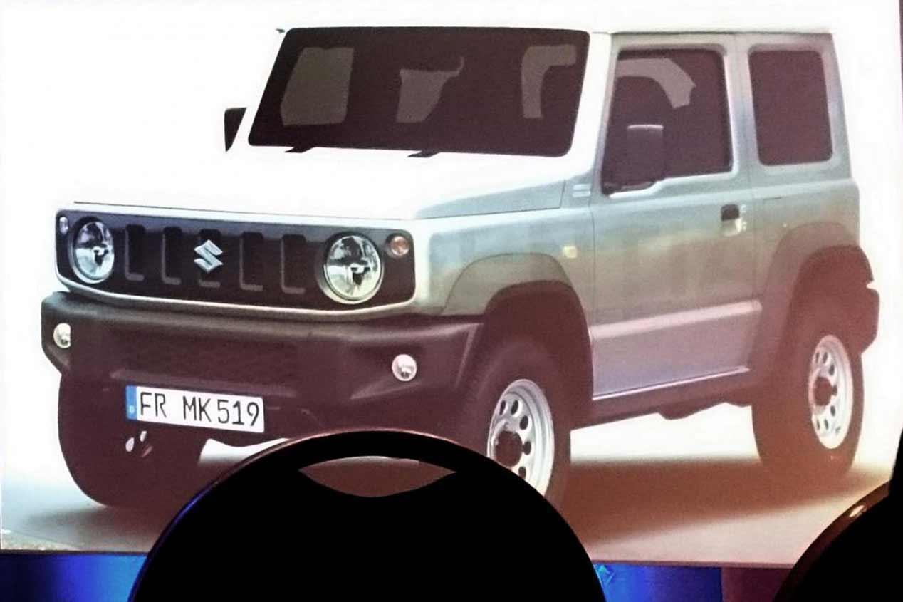 Suzuki Jimny: nueva generación en 2019