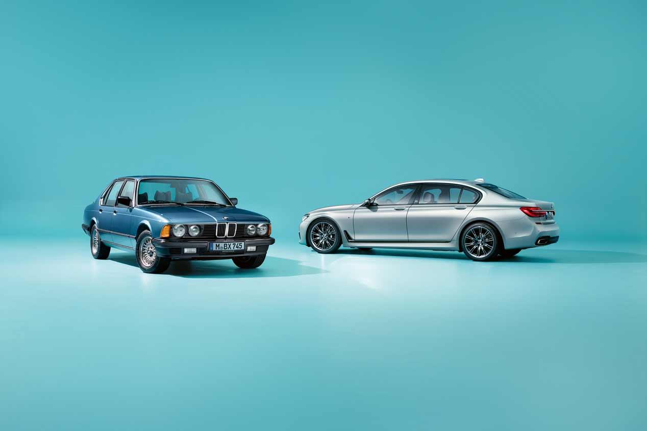 BMW Serie 7 40 Aniversario: sus mejores fotos