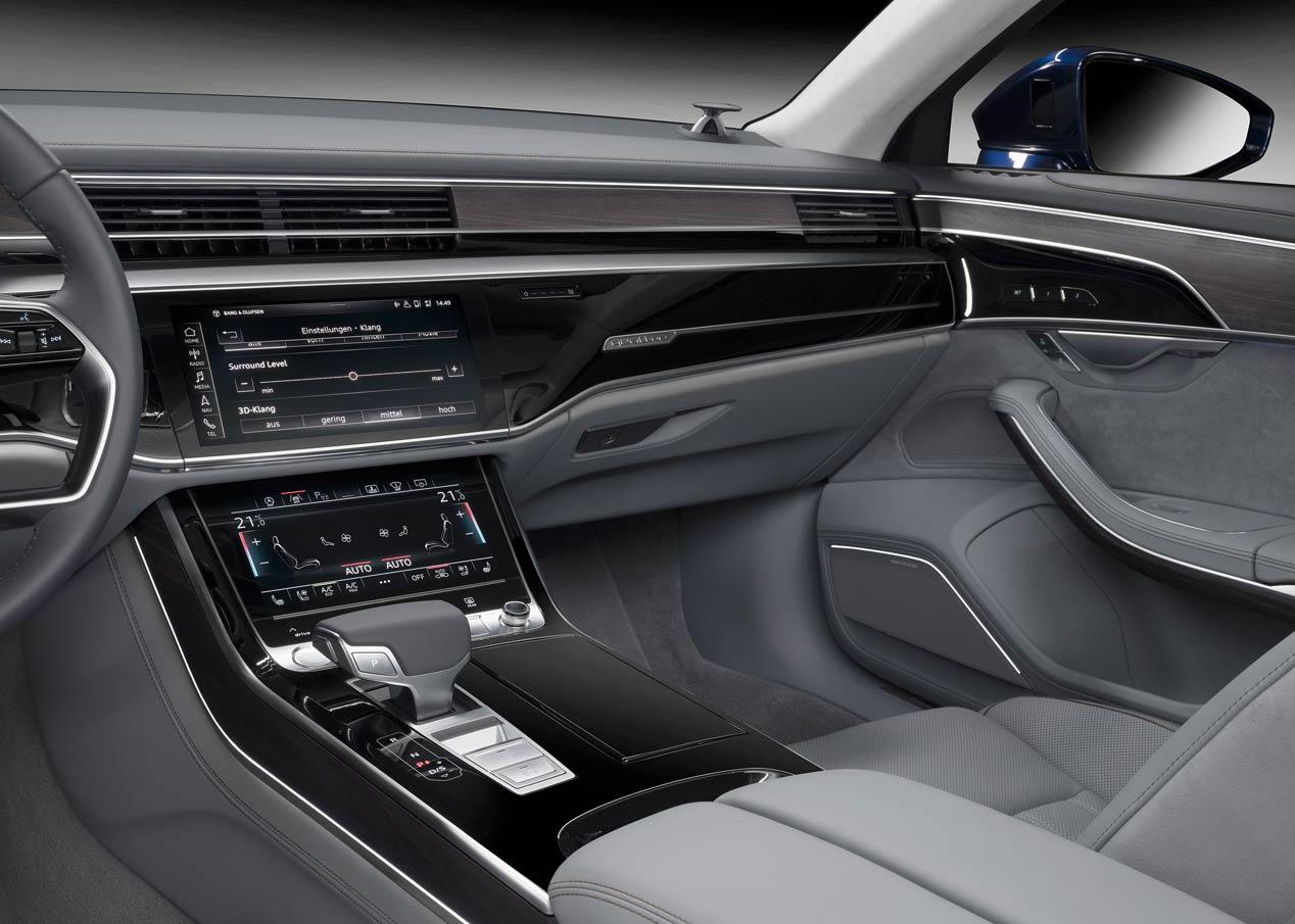 El sonido 3D llega al nuevo Audi A8