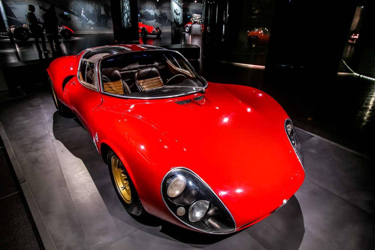 El Alfa Romeo 33 Stradale cumple 55 años