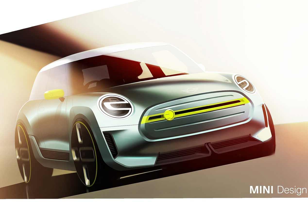 Mini Electric Concept, las fotos del nuevo Mini eléctrico