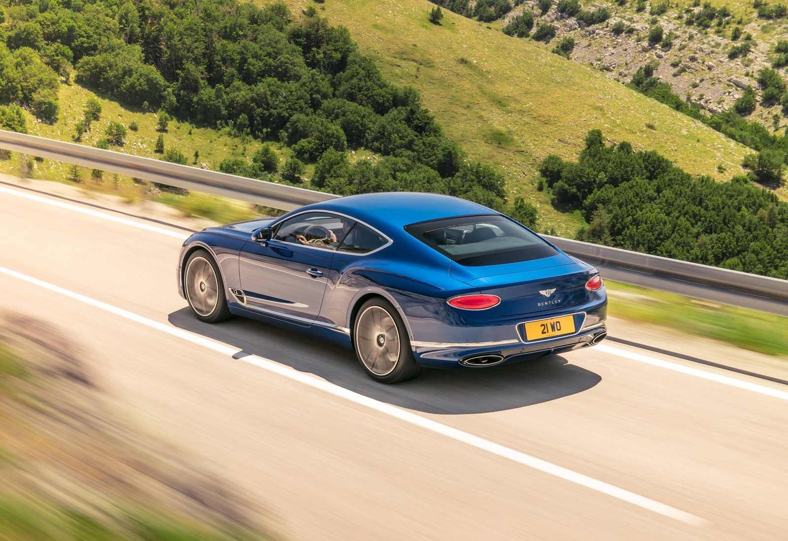 Bentley Continental GT 2018, sus mejores imágenes