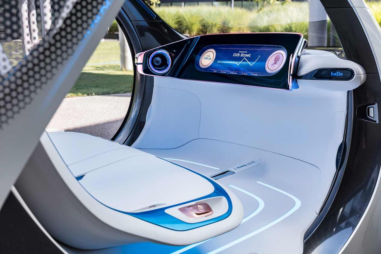 Smart Vision EQ Fortwo: no tiene volante ni pedales
