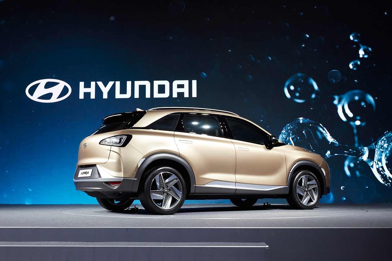 Hyundai futuro SUV hidrógeno