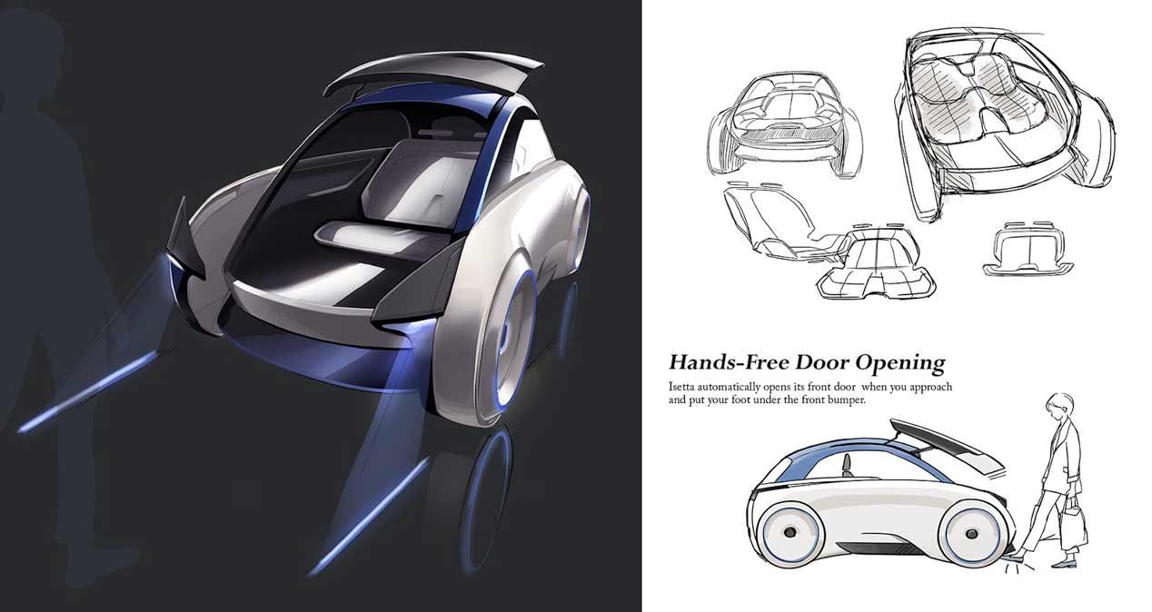BMW Isseta, ¿cómo sería en el Siglo XXI?