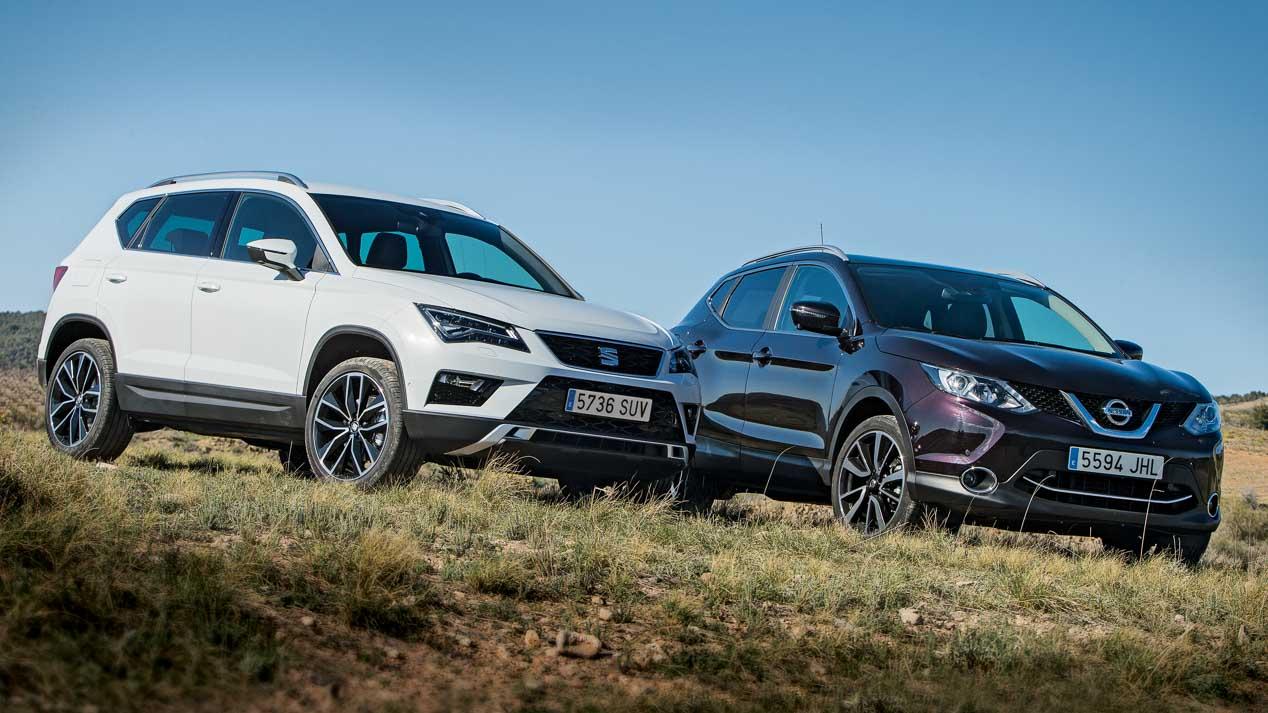 Los SUV y coches más vendidos en nuestro país