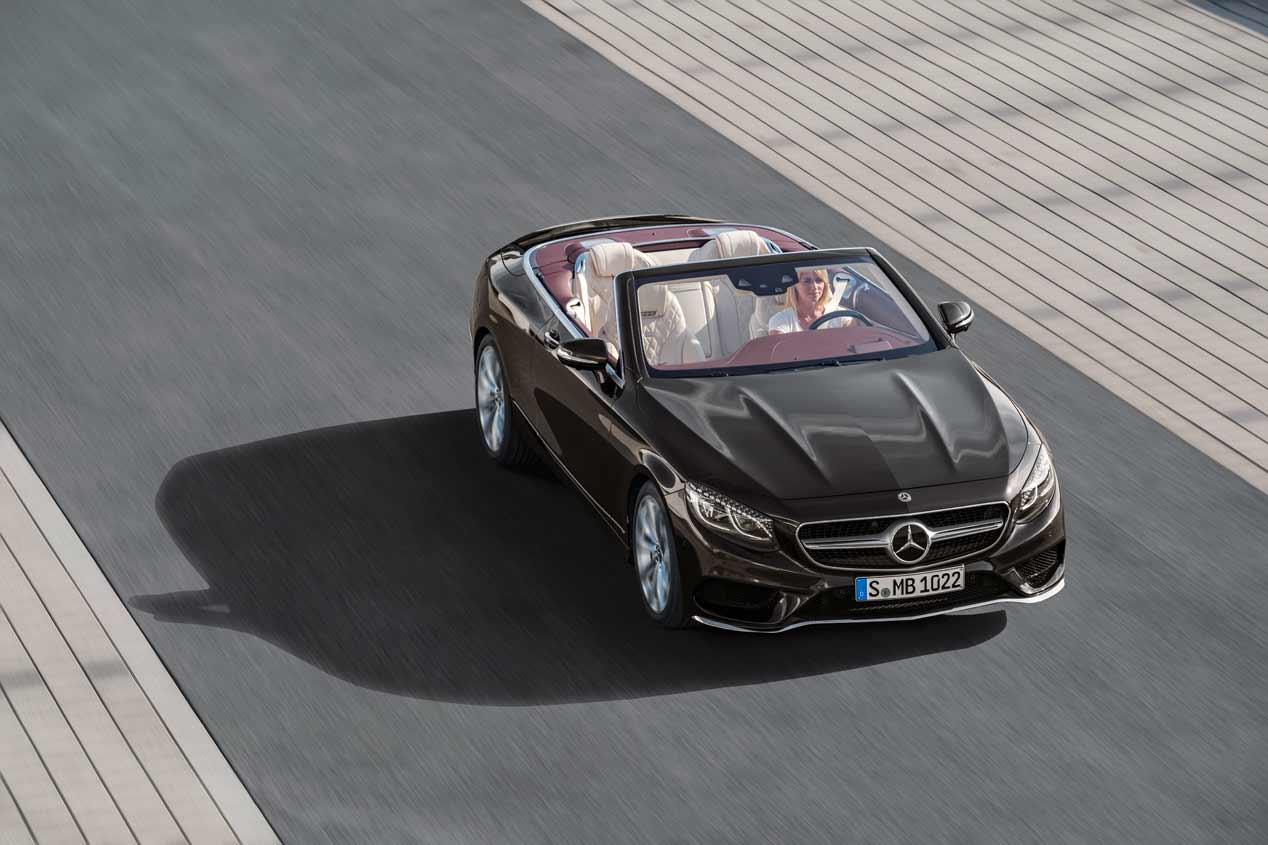 Mercedes Clase S Coupé y Cabrio 2018: lujo sublime en Frankfurt
