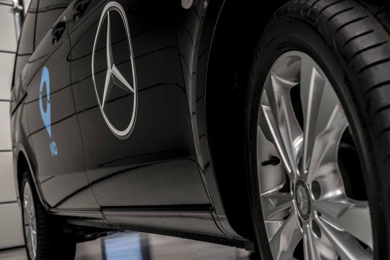 Mercedes y Via se unen para la movilidad a demanda con minibuses urbanos compartidos