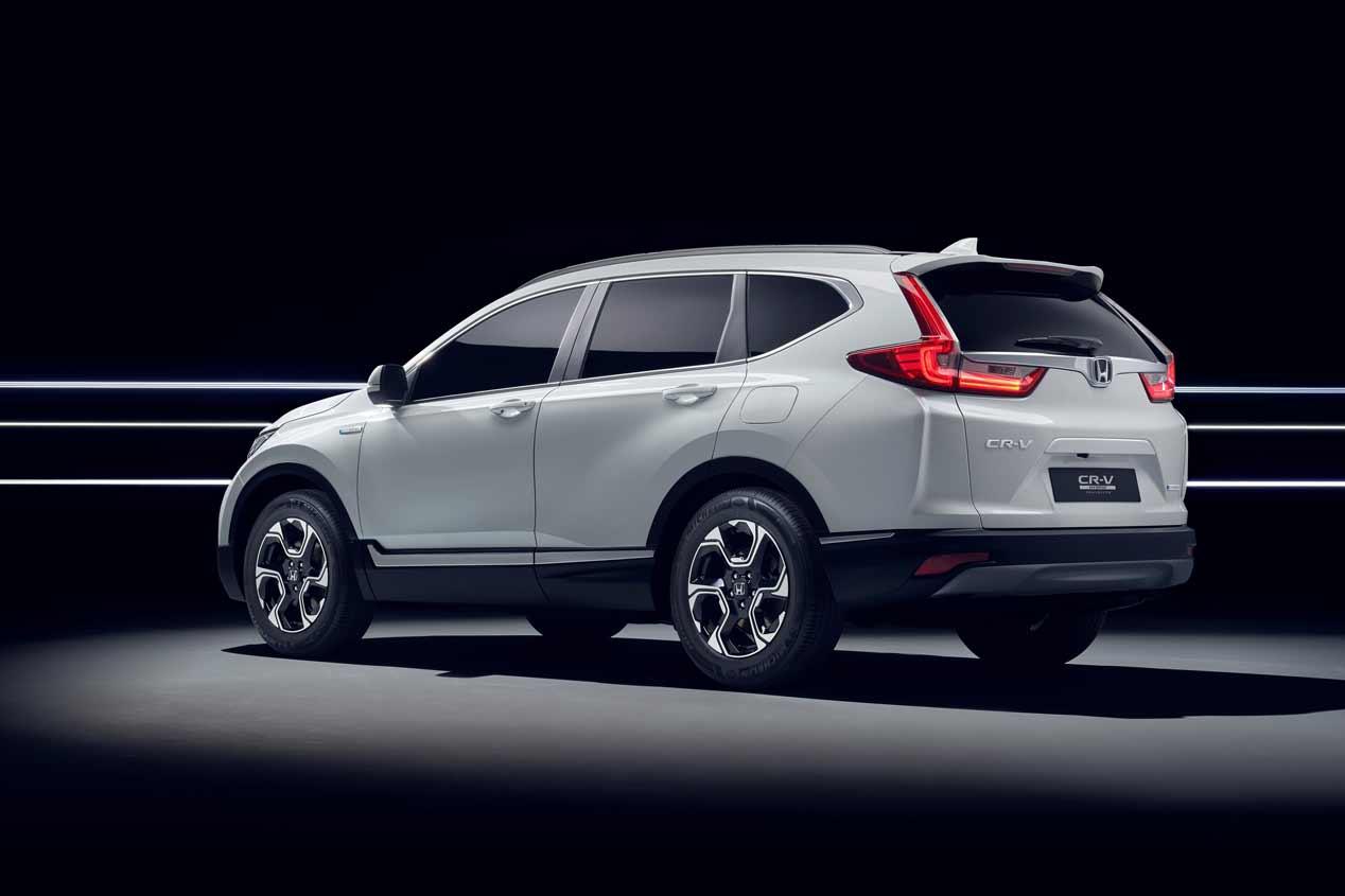 Honda CR-V híbrido, primeras fotos