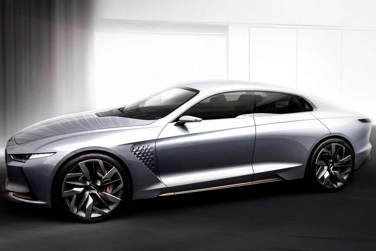 """El Genesis G70, el """"gemelo"""" del Kia Stinger, casi a punto"""