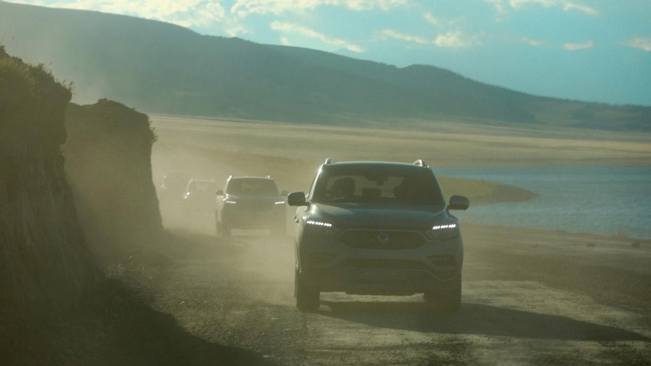 SsangYong Rexton, un SUV grande muy válido para practicar todo terreno