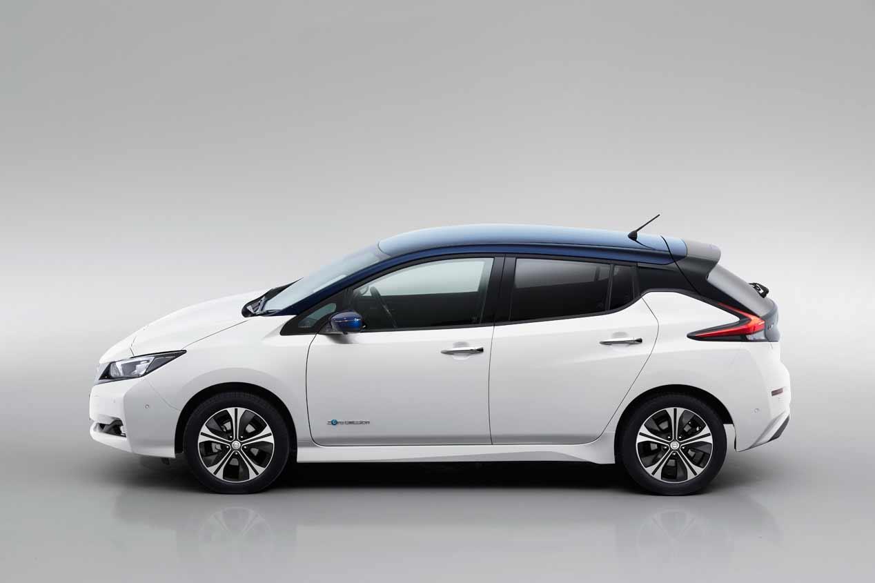 Nissan Leaf 2018: las fotos de la nueva generación