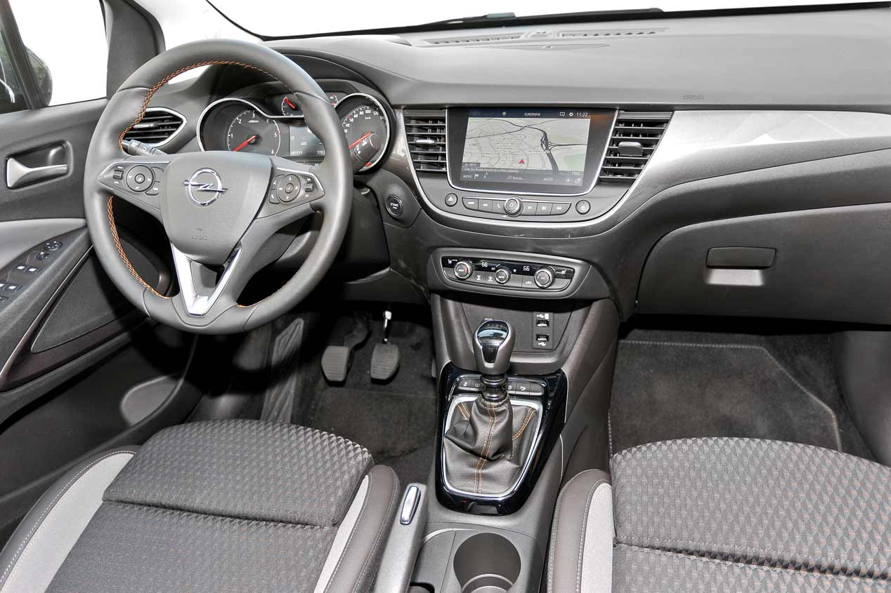 Interior Opel Crossland X
