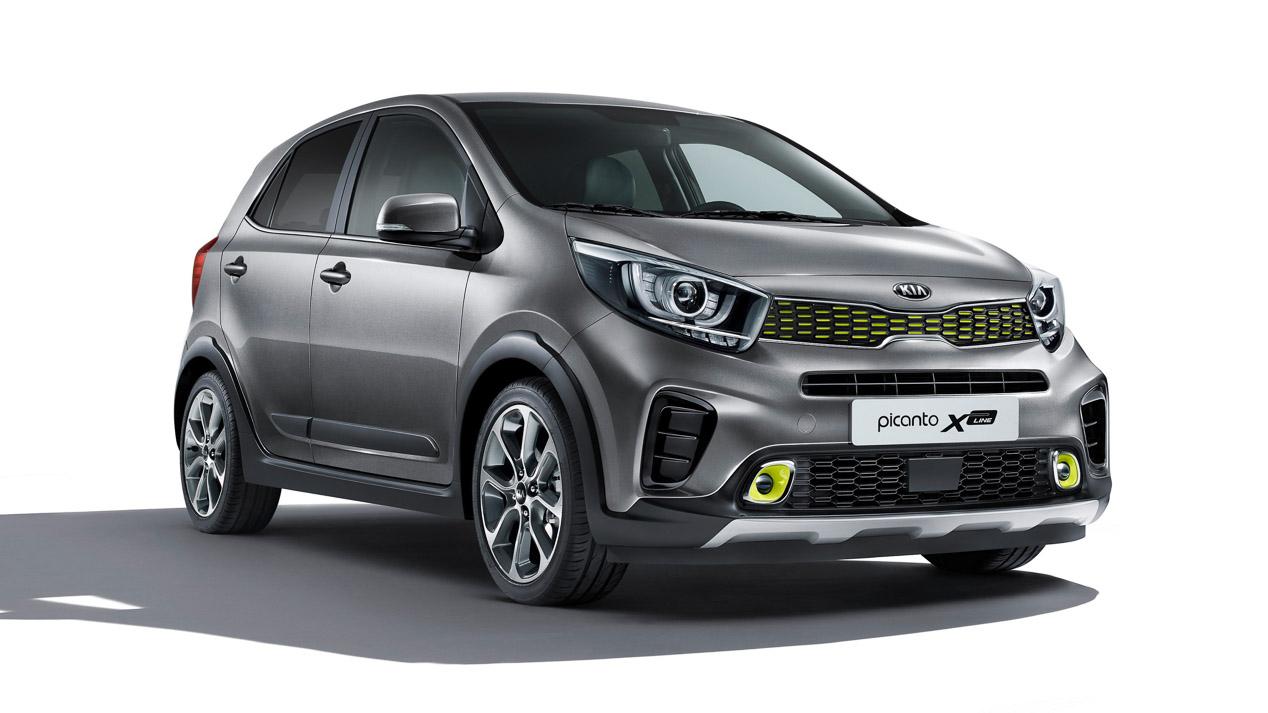 Versión de estética crossover y motor 1.0 Turbo de gasolina para el Picanto