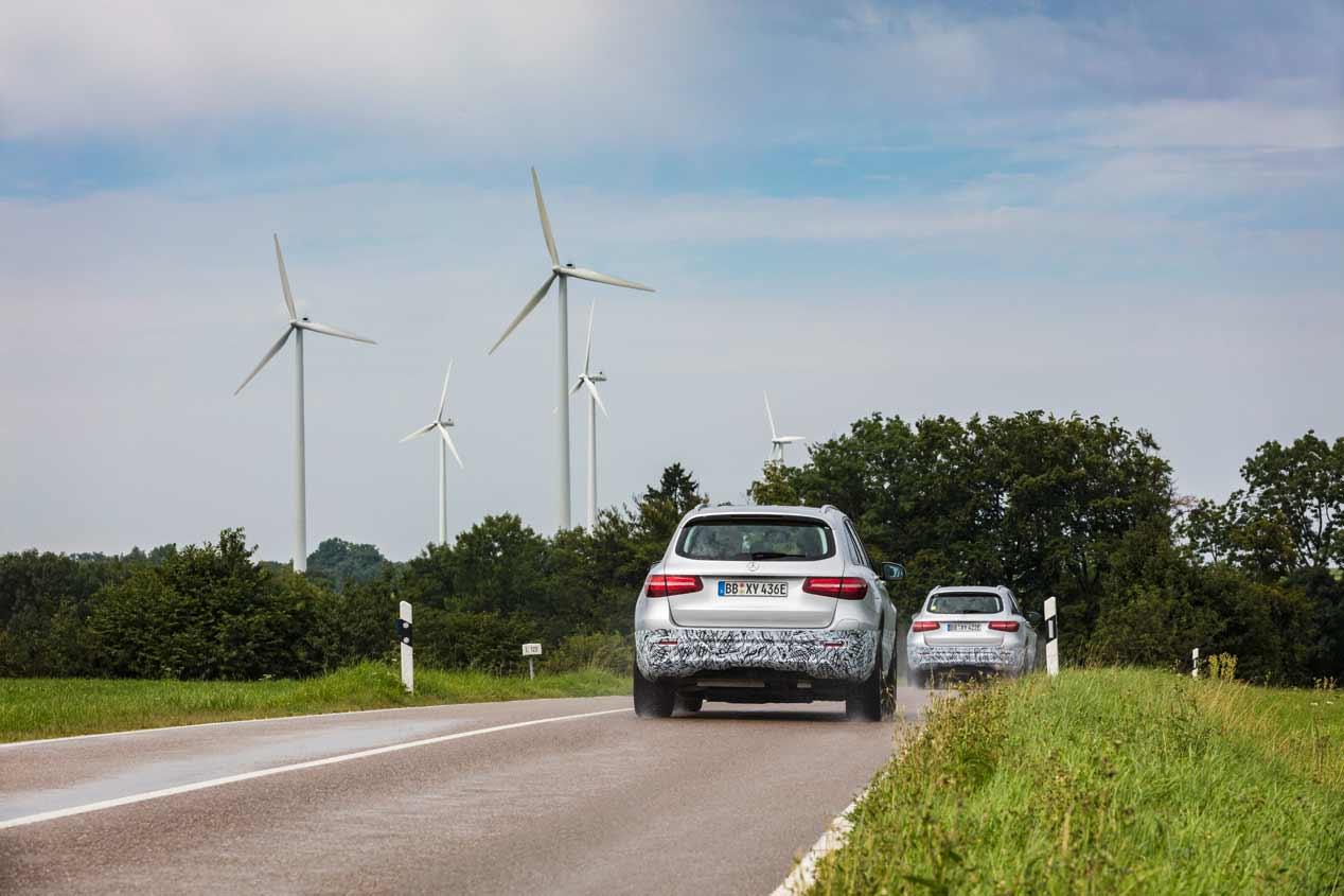 Mercedes GLC F-Cell: las fotos del futuro SUV de hidrógeno