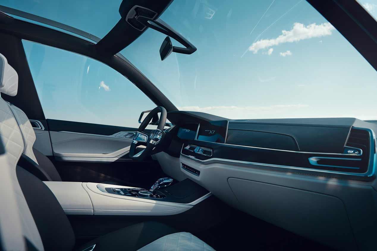 El BMW X7 Concept, en el Salón de Frankfurt