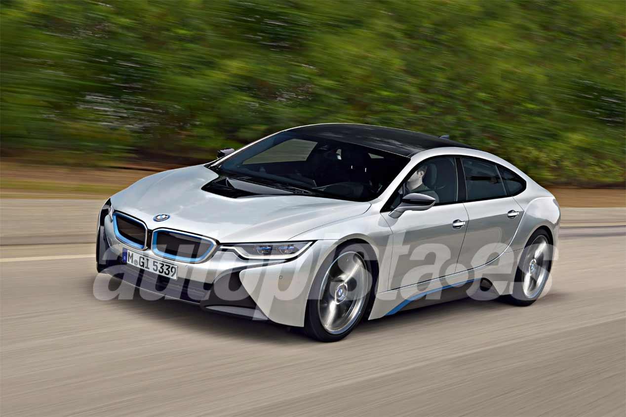 BMW i5 Concept, primeras imágenes