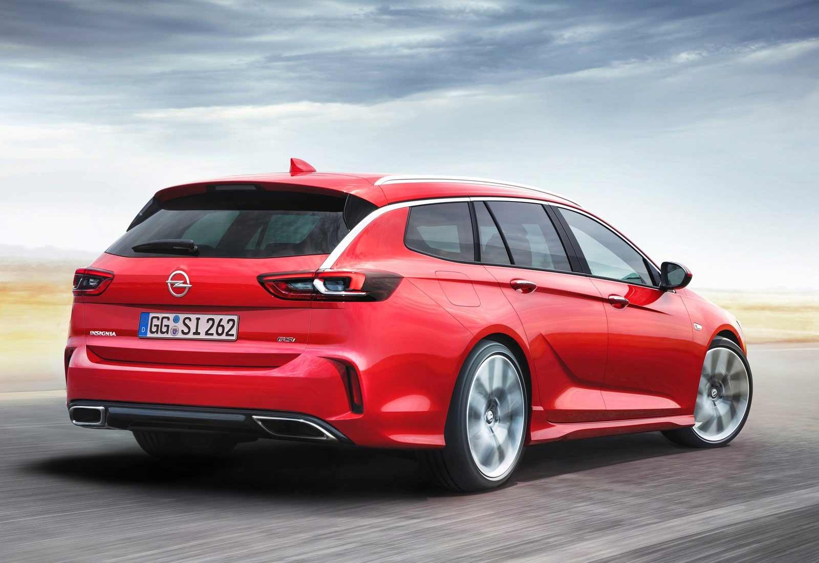 Opel Insignia Sports Tourer GSI, un familiar muy deportivo