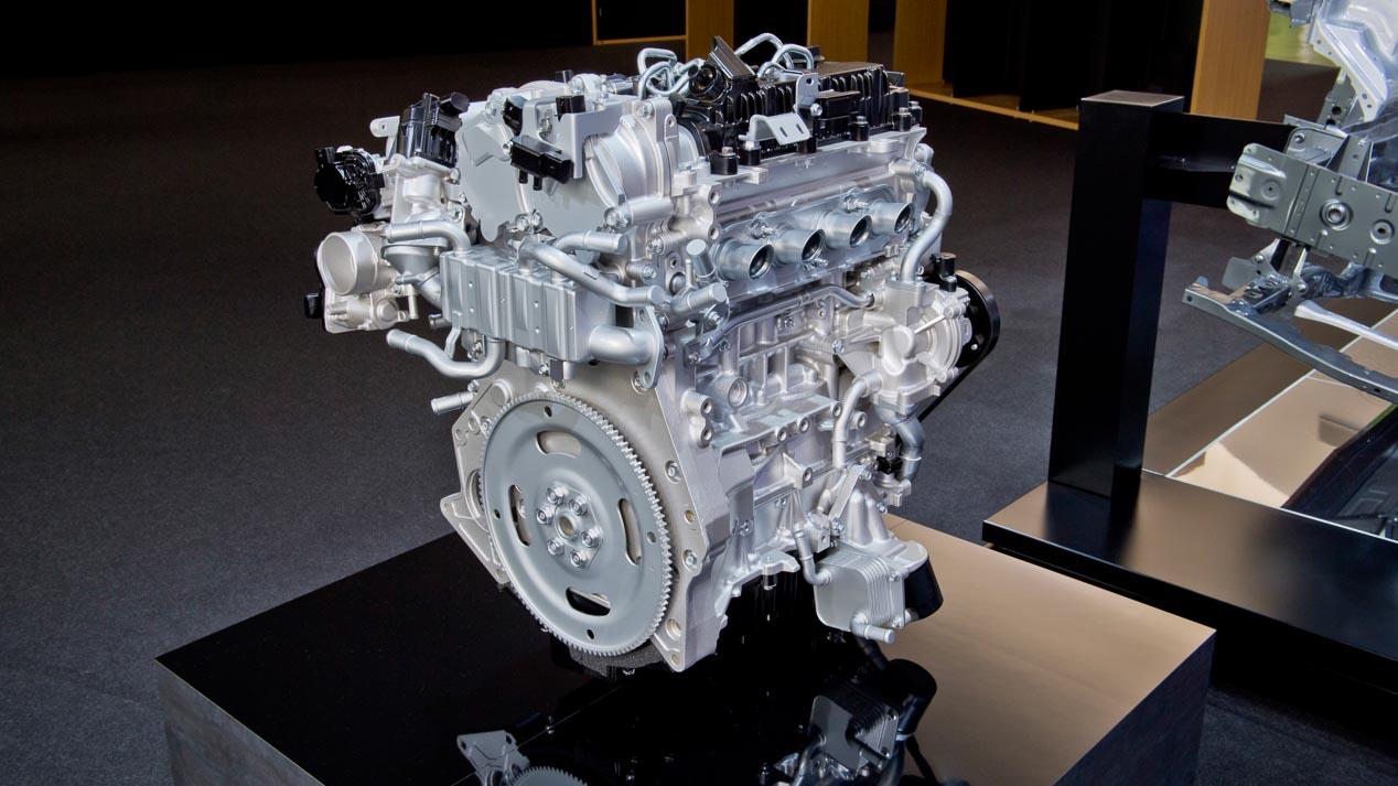 Skyactiv-X conducimos el motor de gasolina que funciona como un Diesel