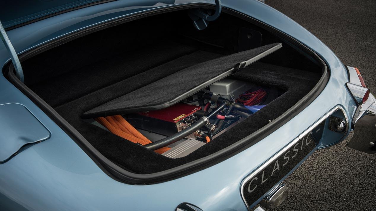 Jaguar E-Type Concept Zero, un clásico electrificado