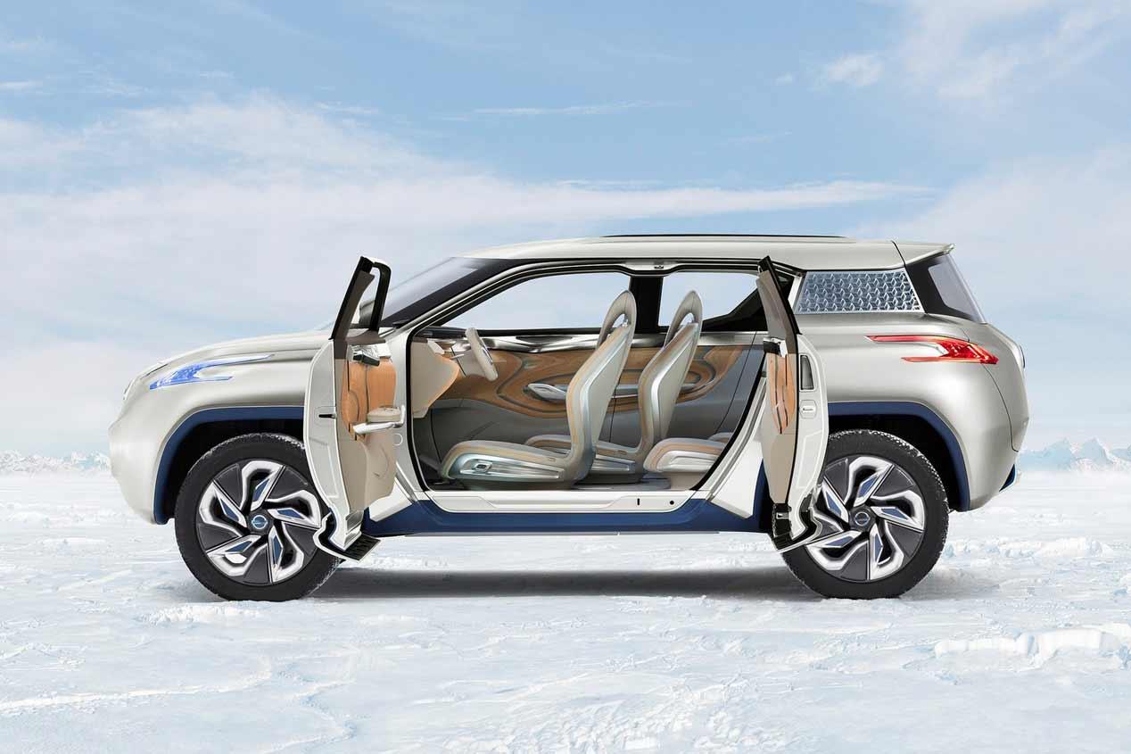 Nissan tendrá un SUV eléctrico en 2018