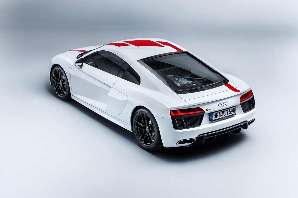 Audi R8 V10 RWS, el primer tracción trasera de Audi