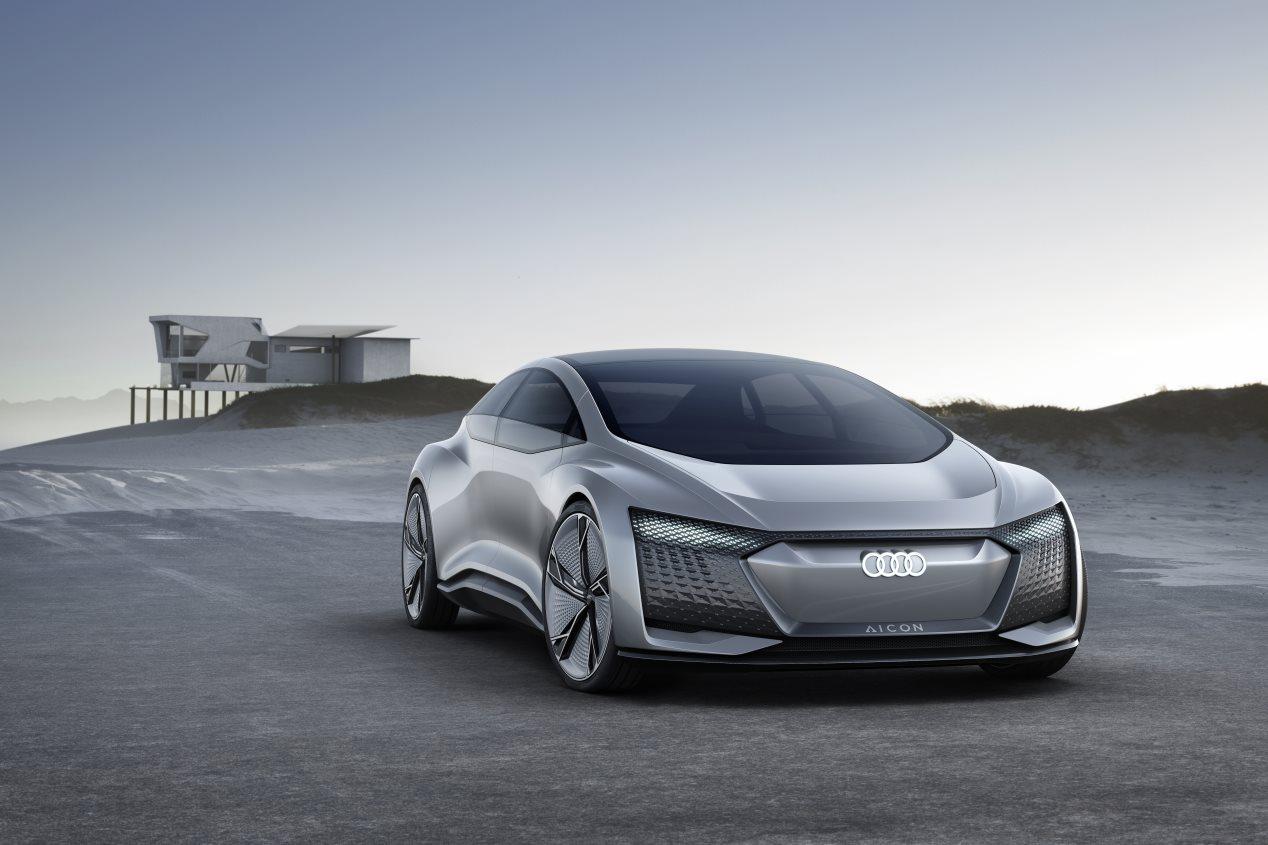 Audi Aicon Concept, ¡el futuro de Audi!