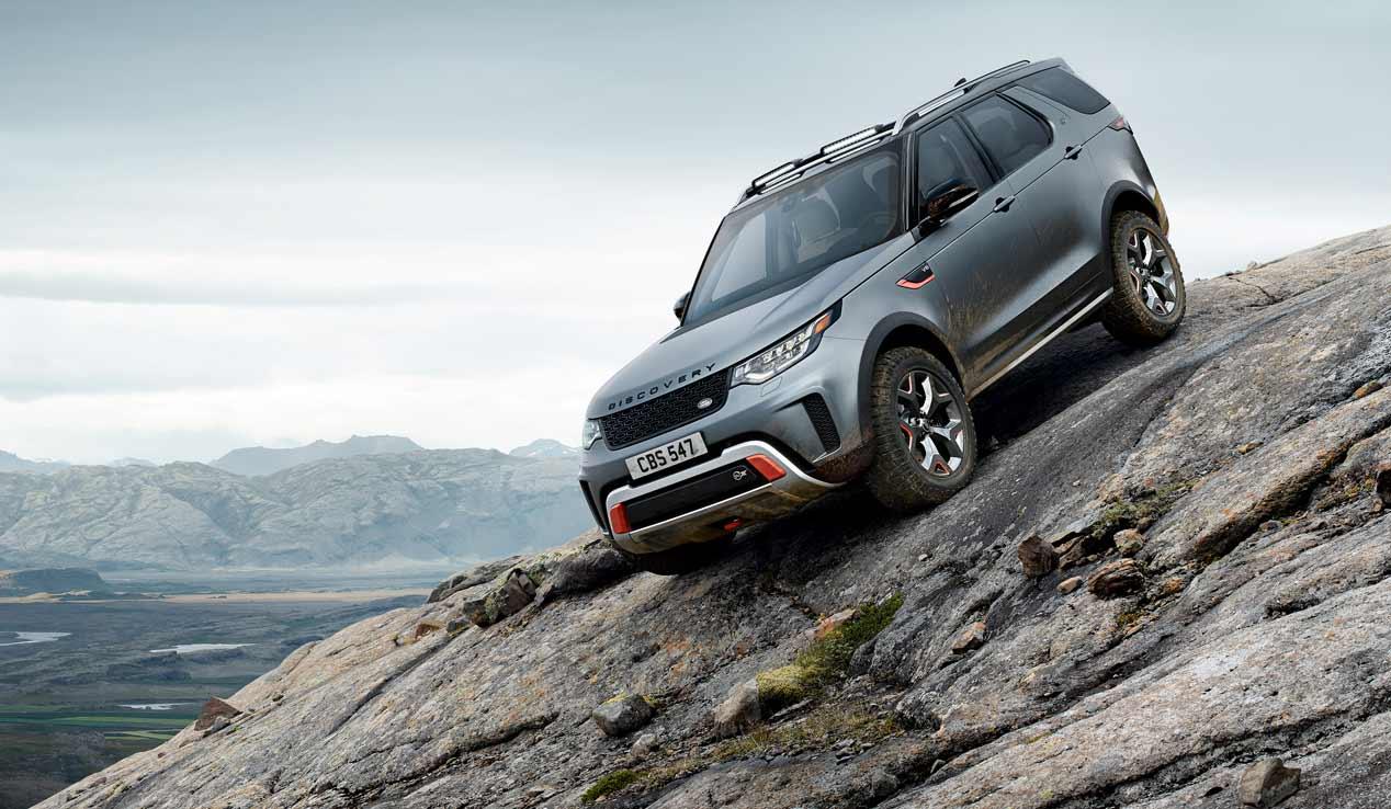 Land Rover Discovery SVX: un SUV muy 4x4 de 525 CV