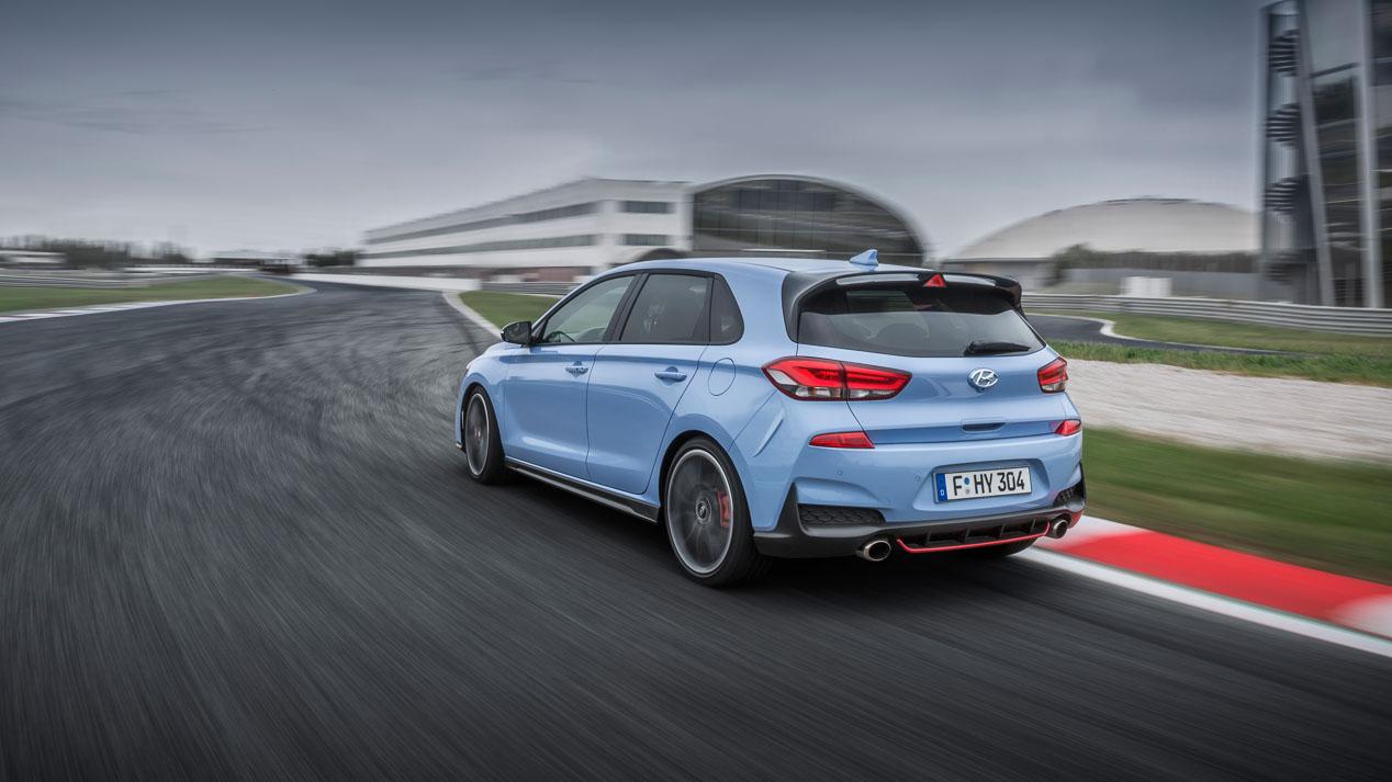 Los deportivos de Hyundai: i30 N, i20 WRC y i30 N TCR