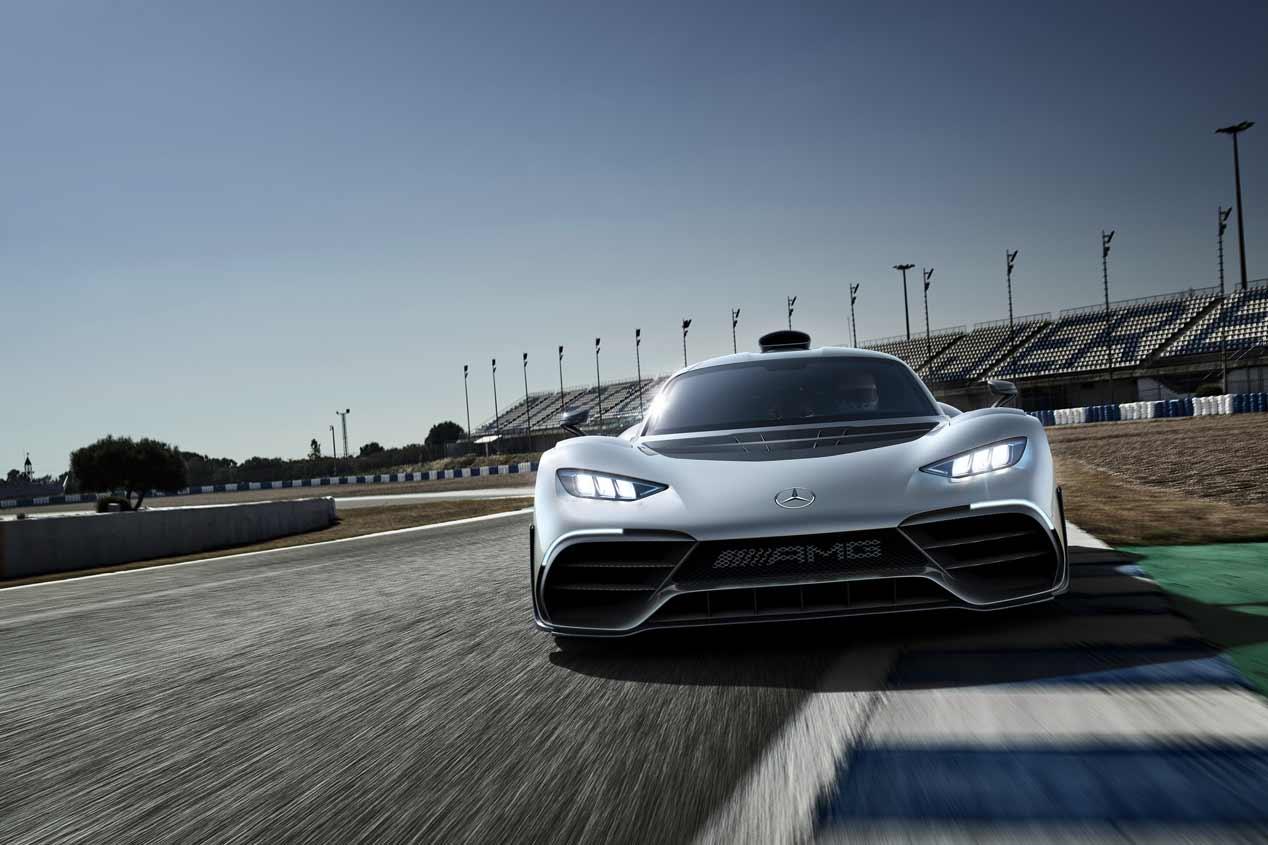 Mercedes-AMG Project One: las fotos de la nueva bestia híbrida
