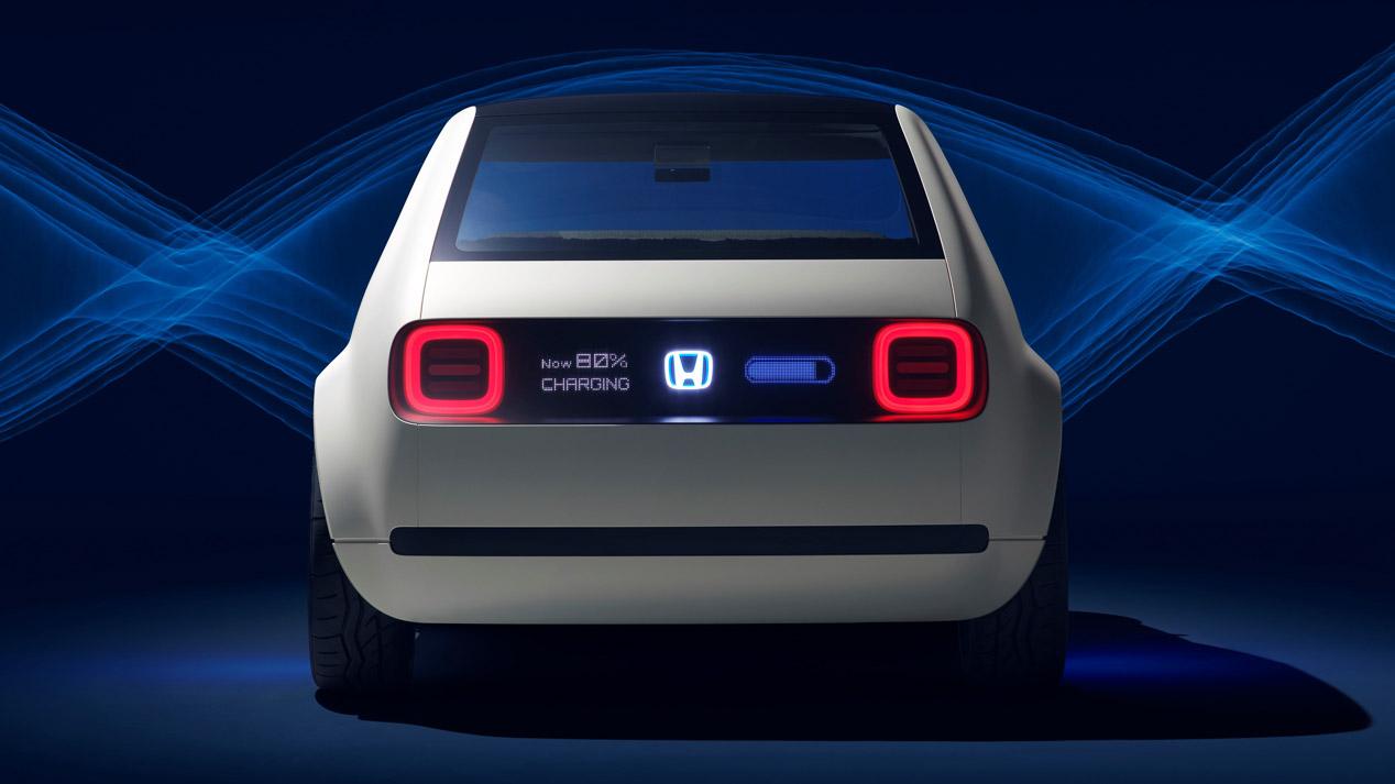 Honda Urban EV Concept: estudio de movilidad eléctrica para la ciudad