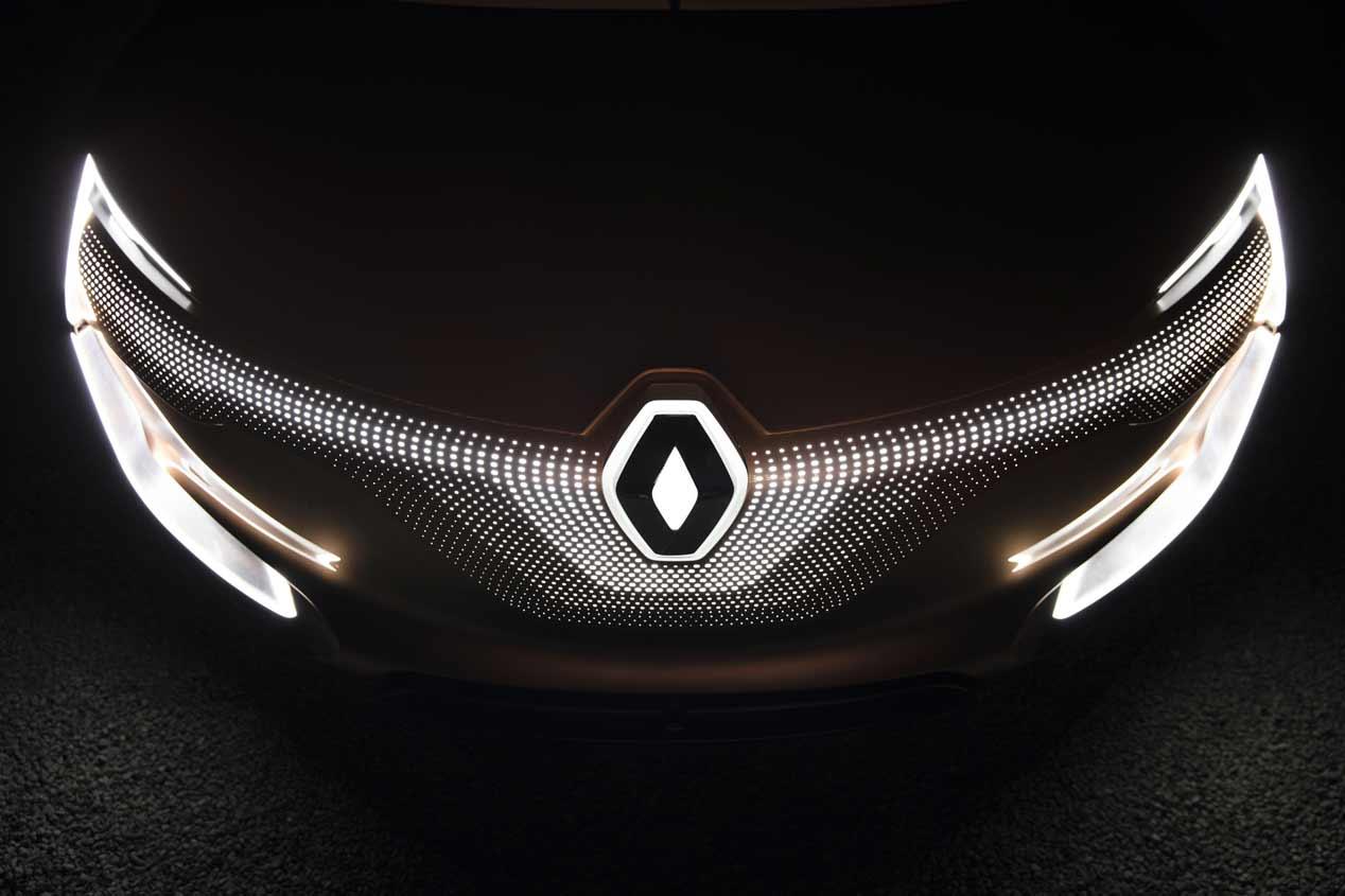 Renaut Symbioz, las fotos del coche del futuro
