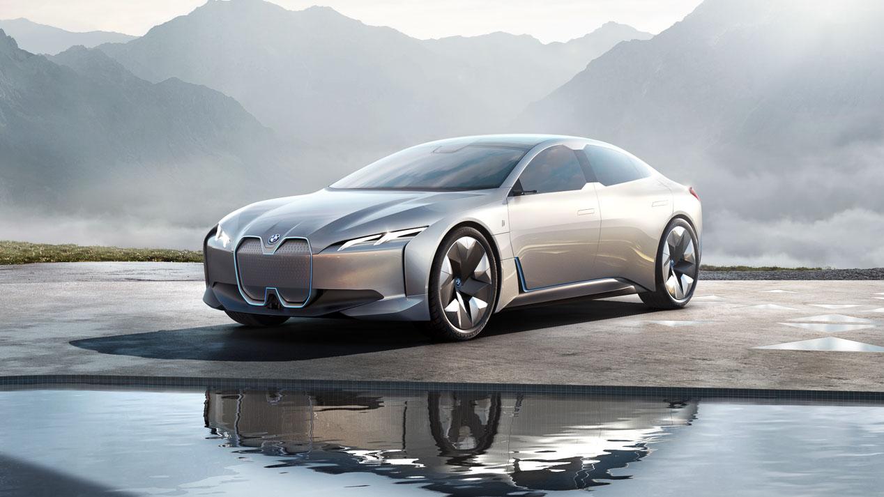 BMW i Vision Dynamics, movilidad eléctrica