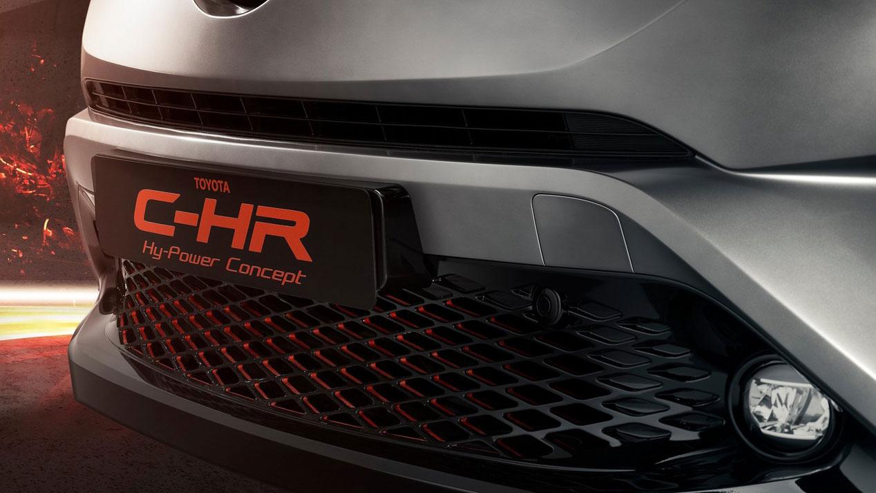 Toyota C-HR Hy Power, el SUV híbrido gana músculo