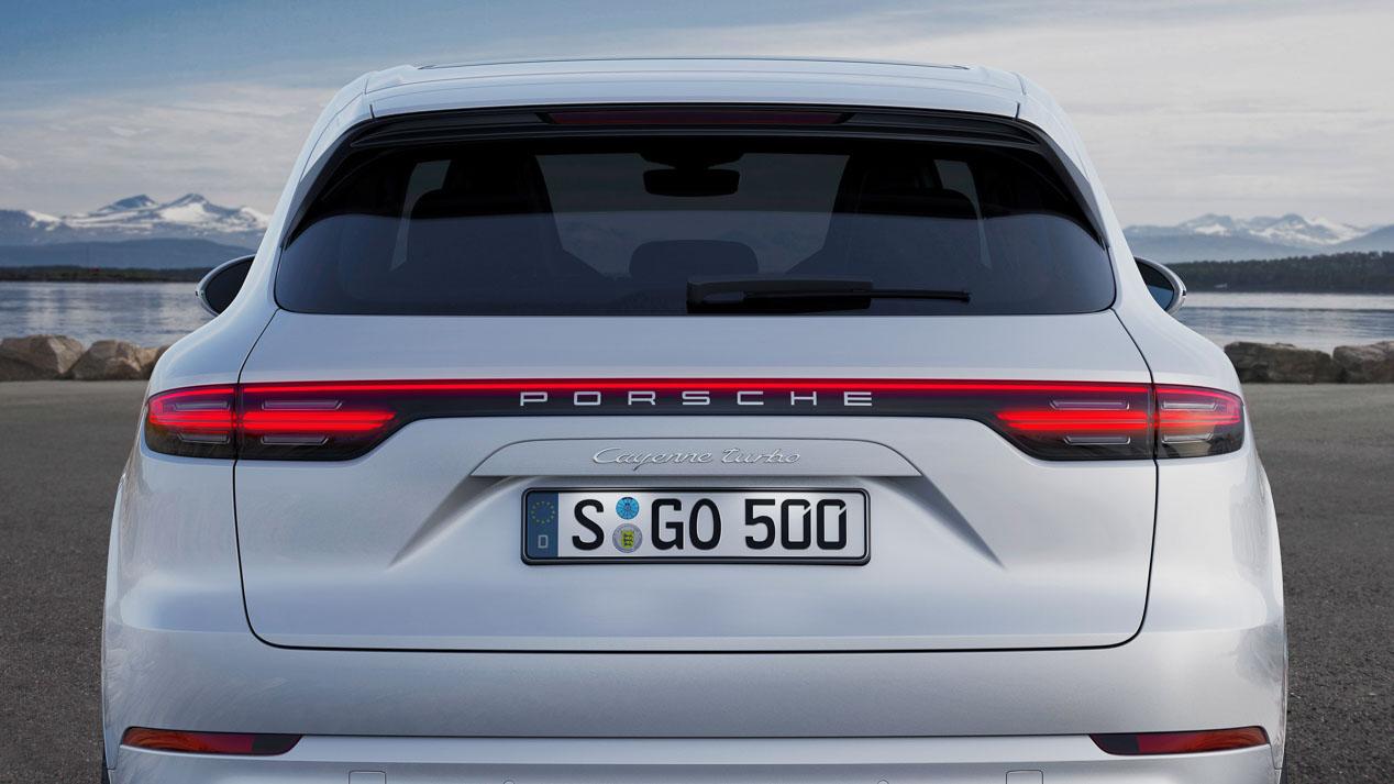 Porsche Cayenne Turbo, SUV de altos vuelos