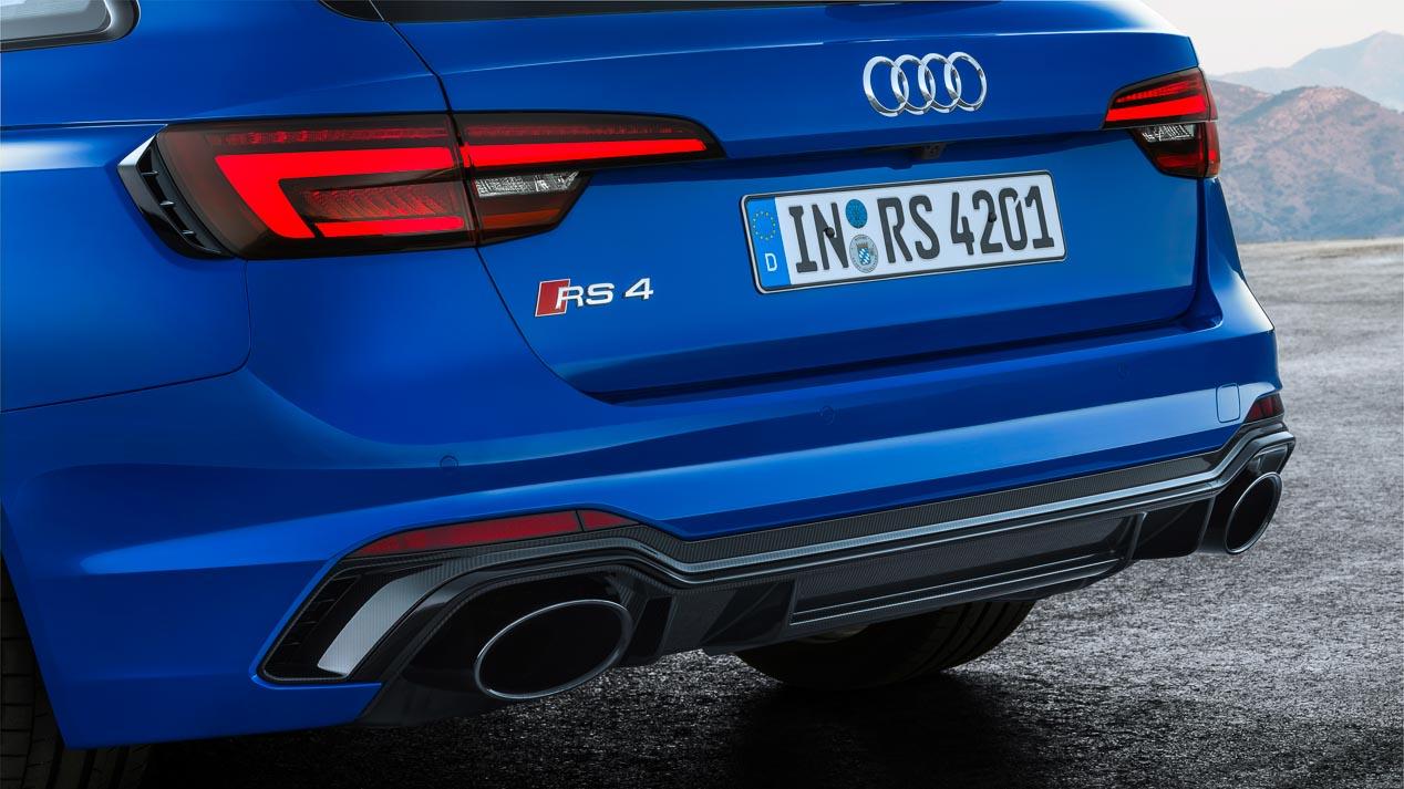 Audi RS 4 Avant, 450 CV, tracción total y cambio automático
