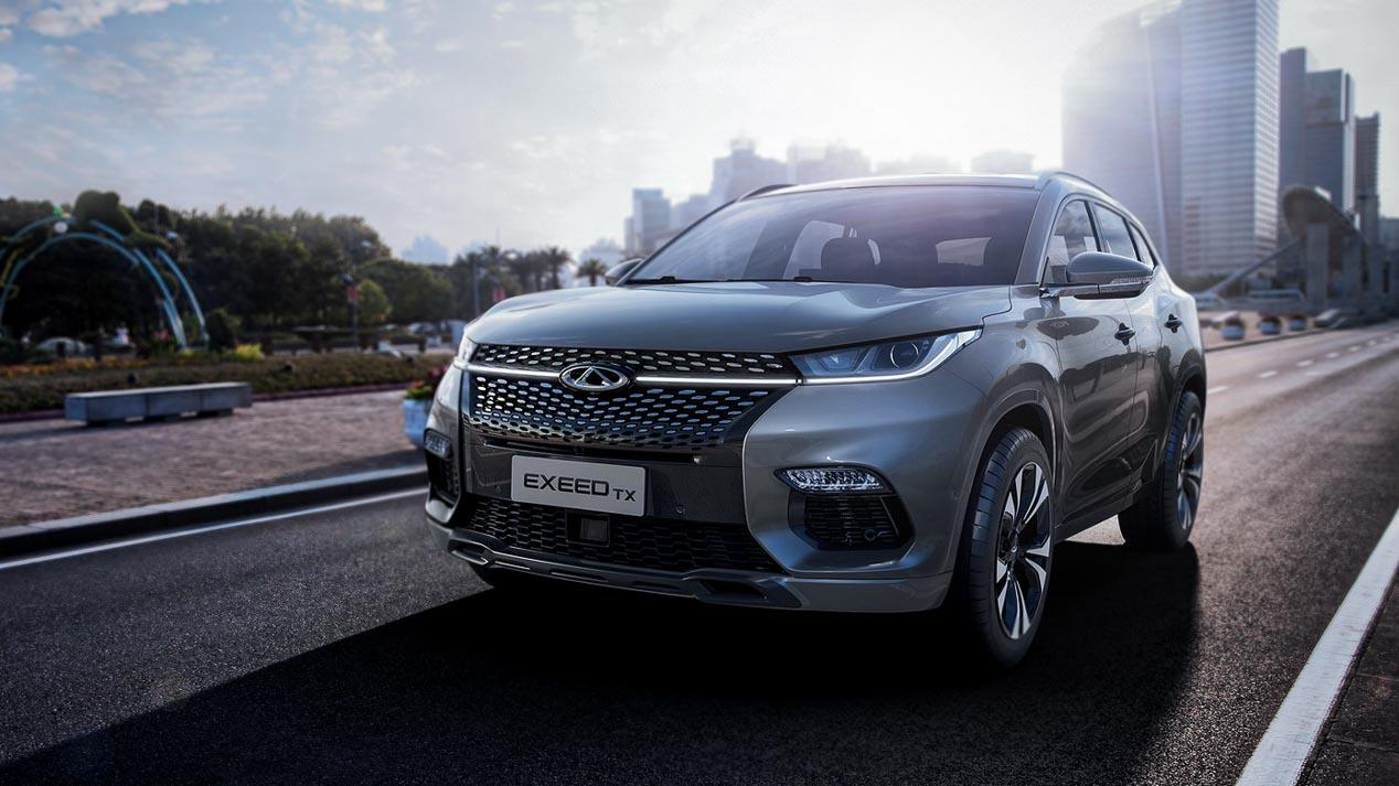 Chery Exeed TX PHEV: el SUV chino para Europa
