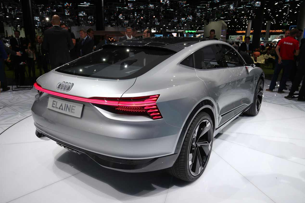 Audi Elaine Concept: las fotos del SUV del futuro