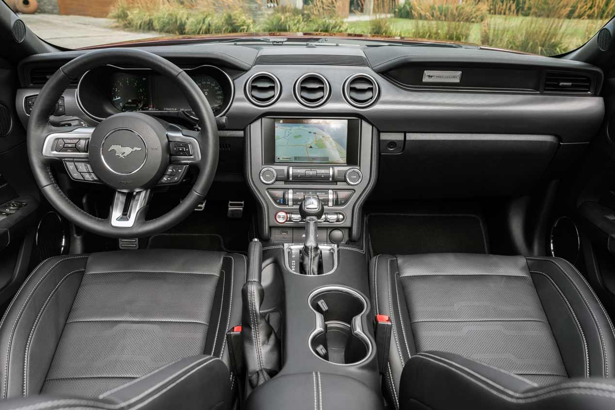 Ford Mustang 2018: las fotos del renovado purasangre deportivo