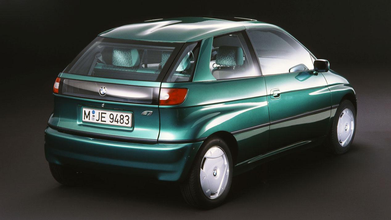 BMW E1, el primer eléctrico de la marca