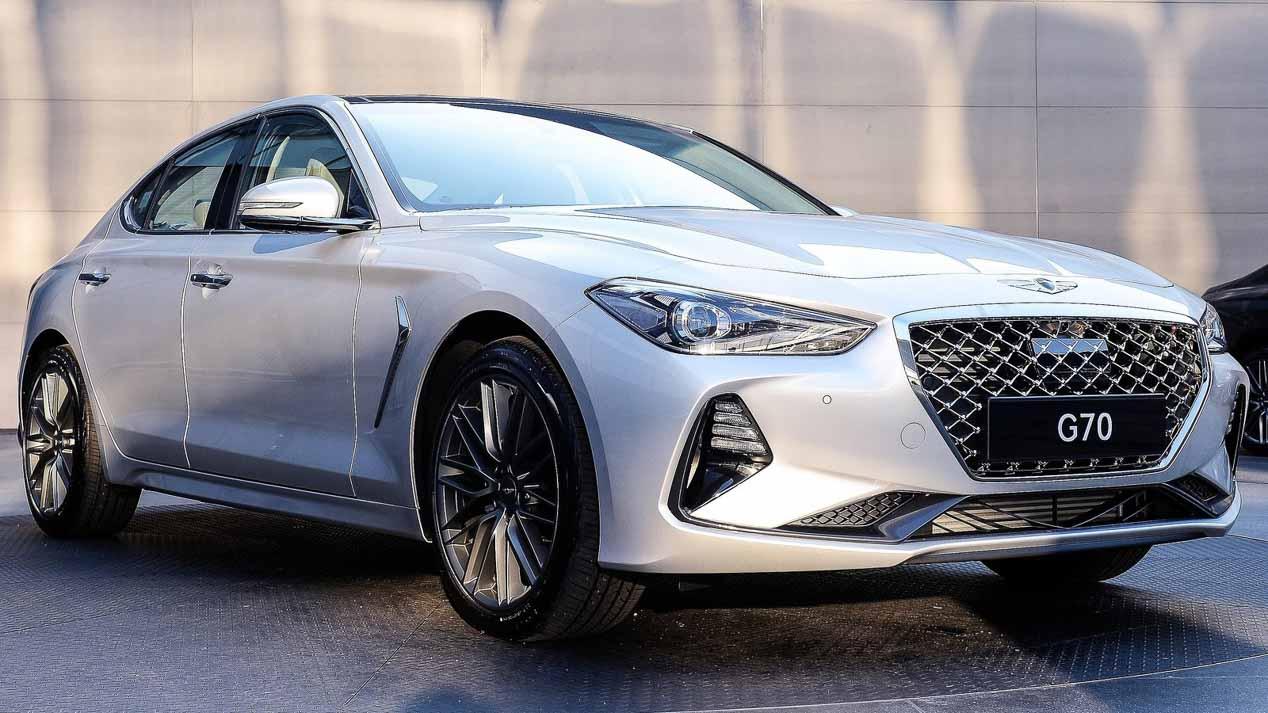 Nuevo Hyundai Genesis G70: alternativa al BMW Serie 3 ...