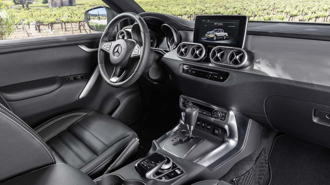 El Mercedes Clase X ya a la venta