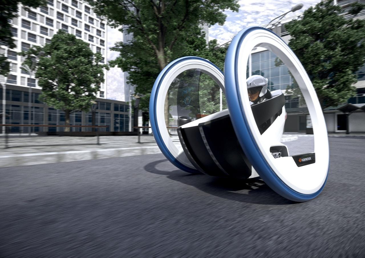 Así podrían ser los neumáticos del futuro
