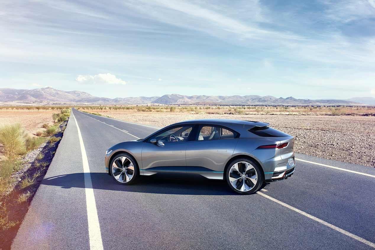 Jaguar I-PACE eTrophy, carreras de SUV eléctricos