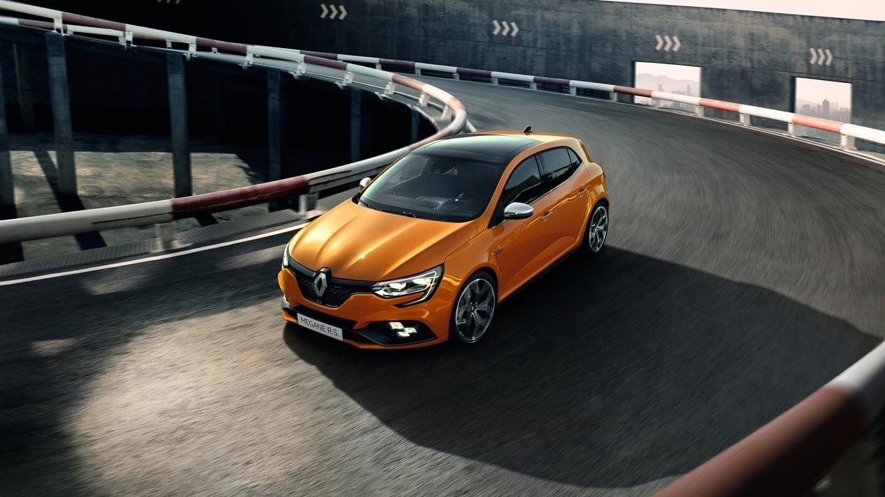 La electricidad llegará al Renault Mégane R.S.