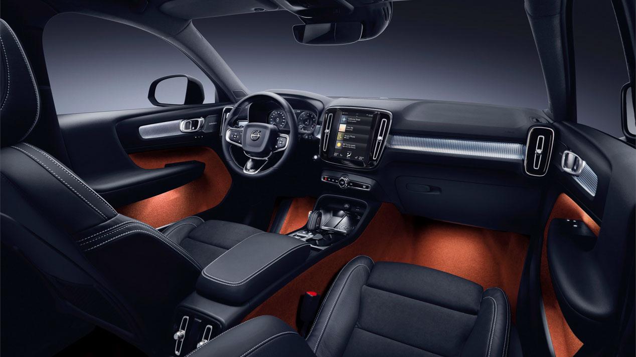 Volvo XC 40, información y fotos oficiales