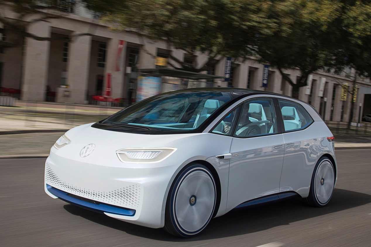 VW I.D. y Golf 8: los compactos que llegan en 2018
