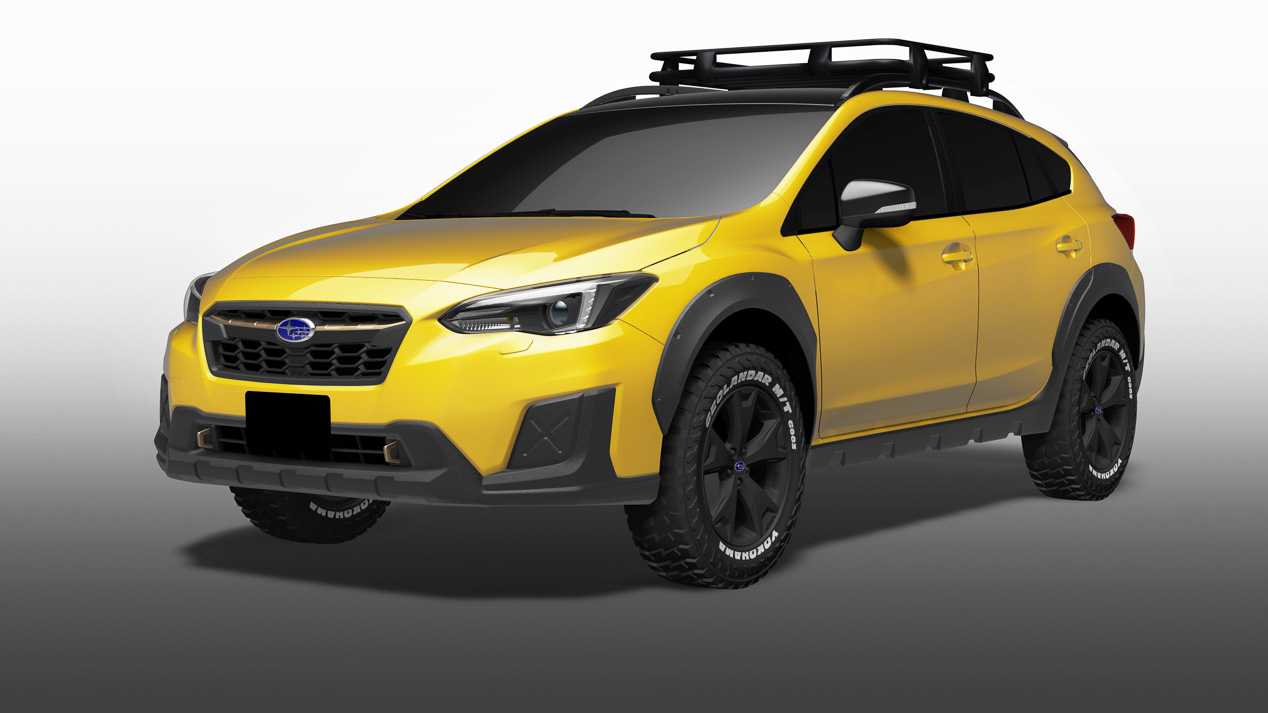 Los coches y los SUV nuevos de Subaru en el Salón de Tokio 2017